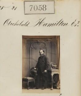 Archibald Hamilton, by Camille Silvy - NPG Ax56974