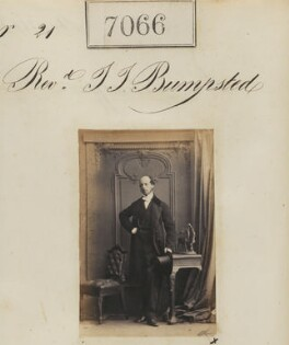 Reverend T.T. Bumpsted, by Camille Silvy - NPG Ax56982
