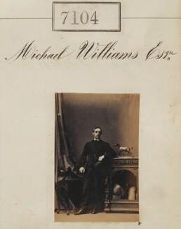 Michael Williams, by Camille Silvy - NPG Ax57020