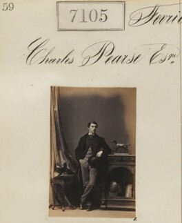 Charles Pearse, by Camille Silvy - NPG Ax57021
