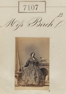 Miss Birch, by Camille Silvy - NPG Ax57023