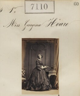 Miss Georgina Hoare, by Camille Silvy - NPG Ax57026