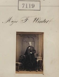 Major F. Winter, by Camille Silvy - NPG Ax57035