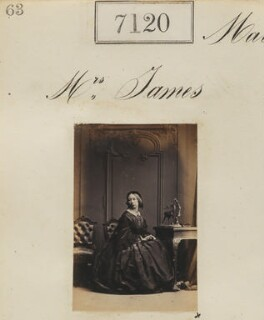 Mrs James, by Camille Silvy - NPG Ax57036