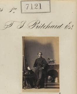 Mr T.S. Pritchard, by Camille Silvy - NPG Ax57037