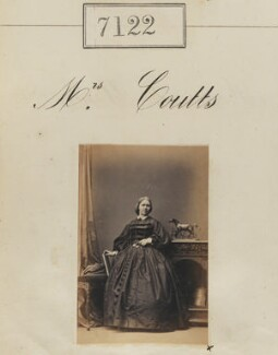 Mrs Coutts, by Camille Silvy - NPG Ax57038