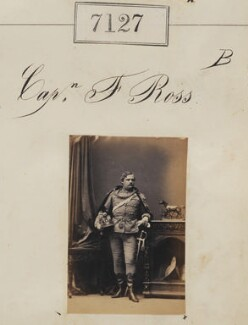 Captain F. Ross, by Camille Silvy - NPG Ax57043