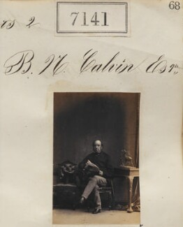 Mr B.N. Calvin, by Camille Silvy - NPG Ax57057