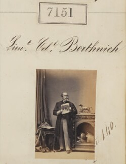 Lieutenant-Colonel Borthwich, by Camille Silvy - NPG Ax57067
