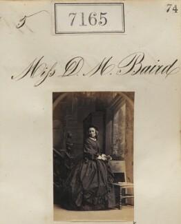Miss D.M. Baird, by Camille Silvy - NPG Ax57081