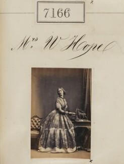 Mrs W. Hope, by Camille Silvy - NPG Ax57082