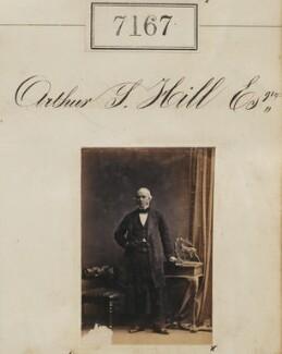 Arthur S. Hill, by Camille Silvy - NPG Ax57083