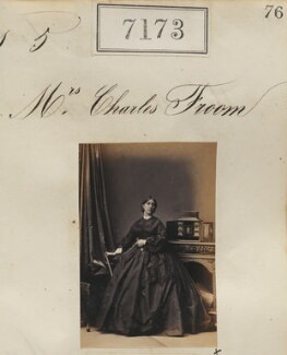 Mrs Charles Froom, by Camille Silvy - NPG Ax57089
