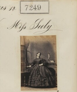 Miss Seely, by Camille Silvy - NPG Ax57161