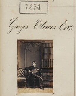 George Clowes, by Camille Silvy - NPG Ax57165