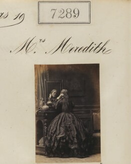 Mrs Meredith, by Camille Silvy - NPG Ax57200