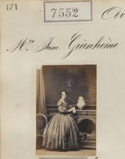 Jane Greenhorne (née Allan), by Camille Silvy - NPG Ax53376
