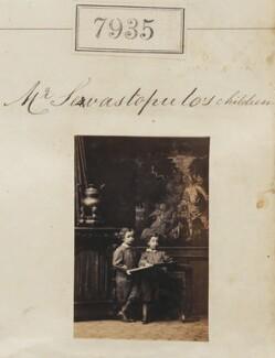 Alexander Michael Sevastopulo and George Sevastopulo, by Camille Silvy - NPG Ax57774