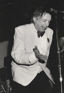 George Melly, by Harry Diamond - NPG x210066