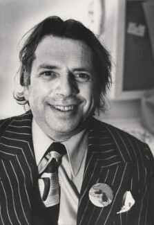 George Melly, by Harry Diamond - NPG x210067