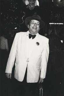 George Melly, by Harry Diamond - NPG x210068