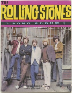 The Rolling Stones Song Album (Keith Richards; Mick Jagger; Charlie Watts; Brian Jones; Bill Wyman), published by Jewel Music Publishing Co. Ltd., after  Gered Mankowitz - NPG D48531