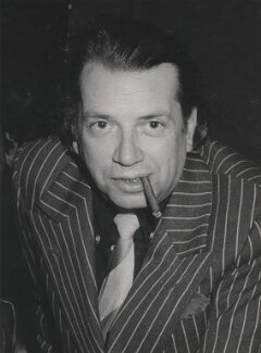 George Melly, by Harry Diamond - NPG x210069
