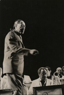 Duke Ellington and his Orchestra, by Harry Diamond - NPG x210091