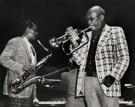 Buddy Tate; Bill Coleman, by Harry Diamond - NPG x210092