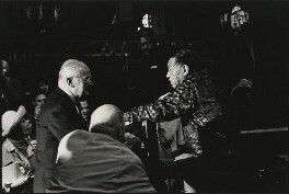 Duke Ellington and unknown sitters, by Harry Diamond - NPG x210095