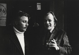 Jeffrey Joseph Bernard; Frank Norman, by Harry Diamond - NPG x210113