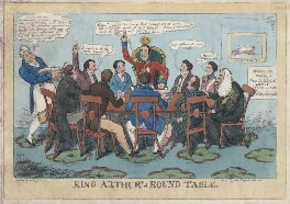 'King Arthur's Round Table', published by Gabriel Shire Tregear - NPG D48710