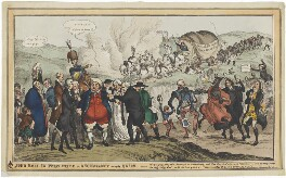 'John Bull In Perplexity or Ascendancy versus Union', by William Heath, published by  Thomas McLean - NPG D48724