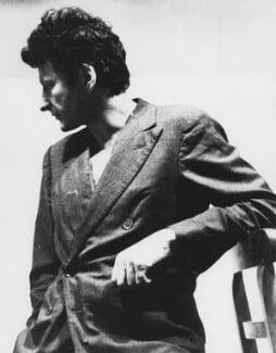 Lucian Freud, by Harry Diamond - NPG x210124