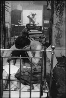 Lucian Freud, by Harry Diamond - NPG x210132