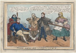 'Paddy Arthur's Night Charge', published by John Field - NPG D48745