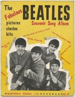 The Fabulous Beatles Souvenir Song Album (Paul McCartney; Ringo Starr; George Harrison; John Lennon), published by Northern Songs Ltd, after  Unknown photographer - NPG D48600