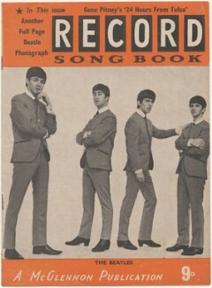 The Beatles on the cover of Record Songbook, January 1964 (Paul McCartney; John Lennon; George Harrison; Ringo Starr), published by Felix McGlennon Ltd., after  Unknown photographer - NPG D48608