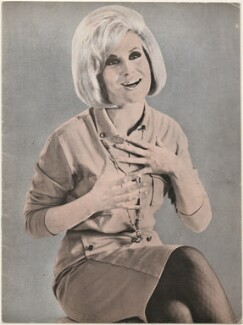 Dusty Springfield Souvenir Programme, printed by Hastings Printing Co., after  Unknown photographers - NPG D48620