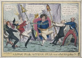 A Long Pull, A Stong [Strong] Pull and a Pull Altogether!!!, probably by Henry Heath, after  Gabriel Shire Tregear - NPG D48757