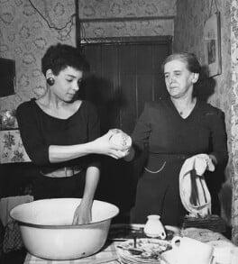 Shirley Bassey; Eliza-Jane Metcalfe (née Start), by John Pratt - NPG x198361