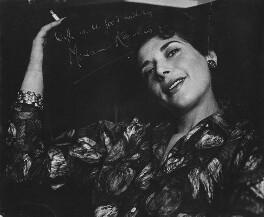 Miriam Karlin, by Lewis Morley - NPG x198362