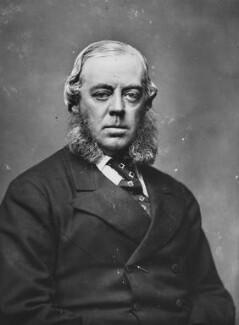 John Winston Spencer Churchill, 7th Duke of Marlborough, by Alexander Bassano - NPG x198364
