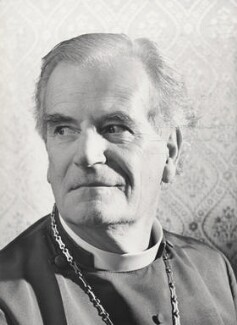 Mervyn Stockwood, by Cecil Beaton - NPG x198381
