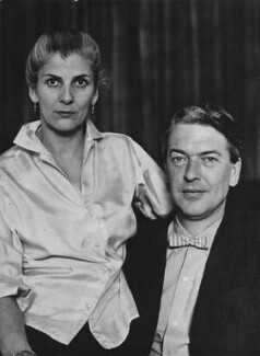 Elizabeth Jane Howard; Kingsley Amis, by Horst Tappe - NPG x198382