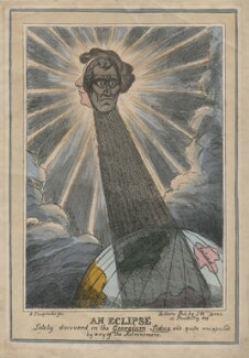 An Eclipse, possibly by John Phillips, published by  Samuel William Fores - NPG D48772