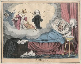 A Dream, possibly by Robert Seymour, printed by  Joseph Netherclift, published by  Thomas McLean - NPG D48786
