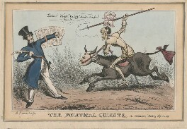 The Political Quixote, possibly by John Phillips, published by  John Fairburn - NPG D48787