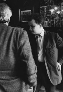 Bruce Bernard, by Harry Diamond - NPG x210182