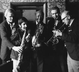 Wally Falkes; Alan Littlejohn; Bill Coleman; Bruce Turner; John Chilton, by Harry Diamond - NPG x210184